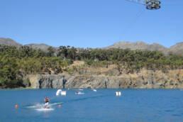Bluerock Wasserski und Wakeboard in Sommerset West, bei Kapstadt, Südafrika